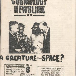 Cosmology Newslink誌(英国)に見るCBA寄稿UFO情報