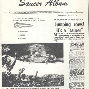 """UFO Magazine1964年に掲載されたCBAの英文誌""""Brothers""""の記事"""