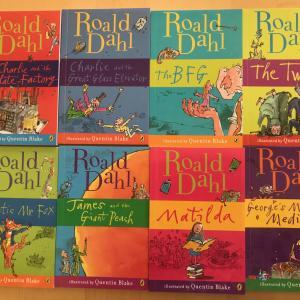 【メルカリ】Roald Dahlの洋書8冊セット
