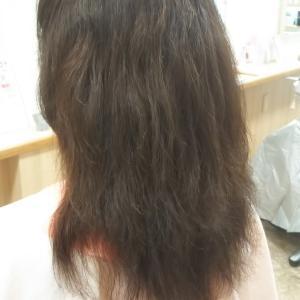 パサパサにうねり、膨らむ髪をストレートカールでサラサラクルン♪伊丹☆尼崎☆美容室