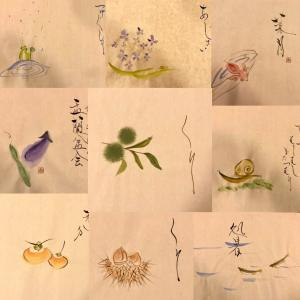 LINEレッスンの生徒さま、いよいよテストです〜和文化を伝える書道