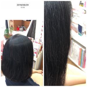 ワンネスヘアオイルの変化