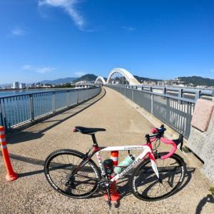 秋を探しに行くライド その4 広島廿日市大橋を越えるところです。
