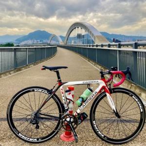 勾配 6.0%の「広島はつかいち大橋」 を渡り 廿日市市へ