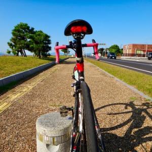 尾道まで 180km 「やまなみ街道サイクリングロード」