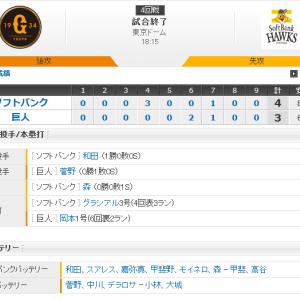 ホークス 球団史上初の3年連続日本一!!!
