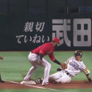 長谷川勇也さん、走りまくる