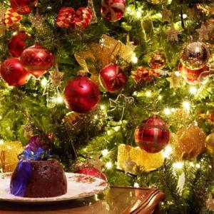 英国菓子 クリスマスプディングを楽しむ