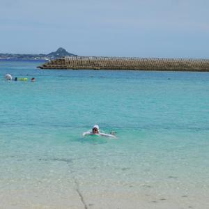 【沖縄旅行】水納島海水浴&ボートシュノーケル