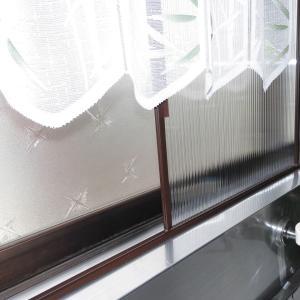 キッチンの窓を二重窓にしました。