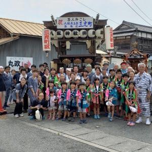 伊勢崎祭り 三光町