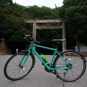 自転車で熱田神宮へ♪