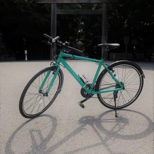 自転車を楽しむ♪