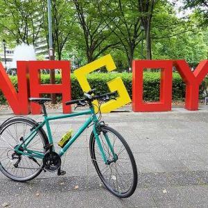 7月の名古屋城と自転車1周年♪
