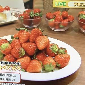 苺の食べ比べ