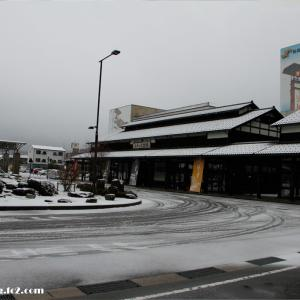 4月の積雪は23年ぶりというまさにその日の輪島写真