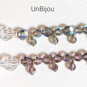 水晶ネックレスをブレスレットに(3)