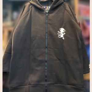 オリジナルトカゲ ロング丈パーカー(裏起毛)