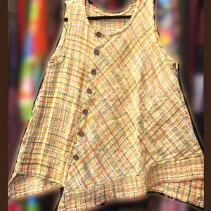 手織りジョムトンデザインチュニック