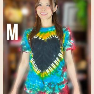 ハートタイダイTシャツ