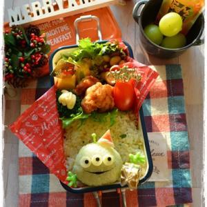 リトルグリーンメンのクリスマス弁当~女子高校生のおべんとう♪