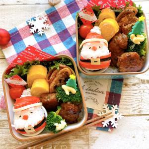 サンタさんおにぎり弁当~JK姉妹のおべんとう♪