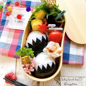 富士山おにぎり弁当~高校生のおべんとう♪