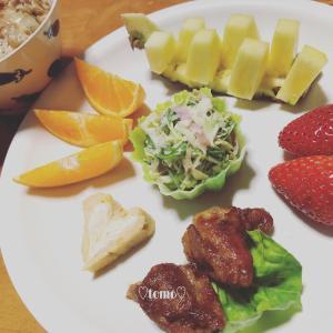 1月28日、29日の朝ごはんとバナナミルク(*´ω`*)