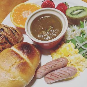 2月11日の朝ごはんとmy母の古希祝い(*´ω`*)