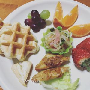 2月16日、17日の朝ごはんと娘チャンとデート(*´ω`*)