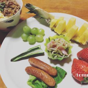 2月27日、28日の朝ごはんとタピオカバナナミルク(*´ω`*)