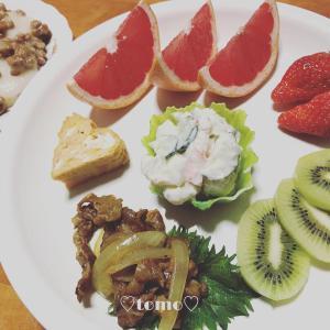 3月1日、2日の朝ごはんと高柳のパン屋サン(*´ω`*)