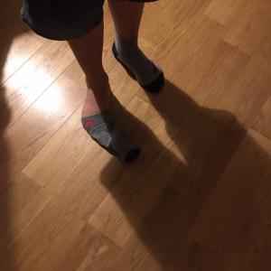 11歳児と靴下