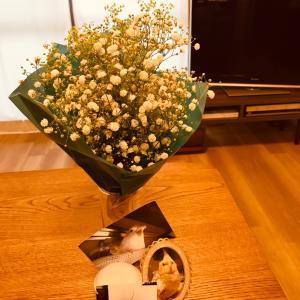大好きなお花でお参り