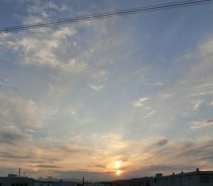 昨日の虹♪