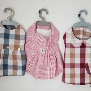 お洋服作り。