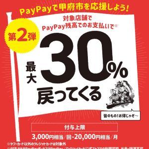甲府市×PayPay第2弾
