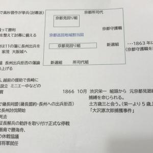 土方と渋沢 がんばれ中3英語