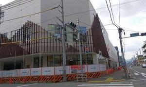 「コピオ西八王子駅前」の工事の様子を見てきました。