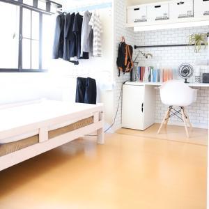 【4.5畳】ミニマル高校生の部屋と洋服