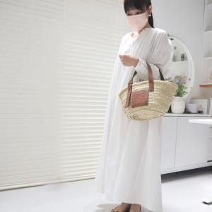 毎日同じ服なの?白いワンピース4着、比べてみました