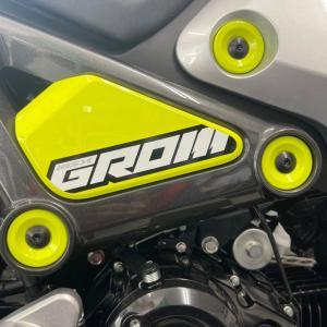 新型GROMに励んでます!!