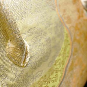準礼装用和装バッグ2020・4種|利休バッグ八寸/九寸|道長文様の正絹帯地使用のオリジナルバッグ