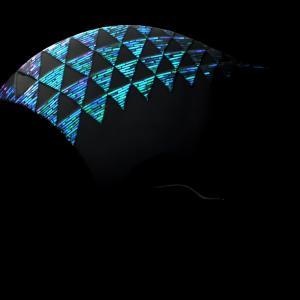 蒼翠色に輝く縁起物の鱗文様が美しい、べっ甲螺鈿かんざし2020|希少な青貝(夜光貝)を贅沢に使用