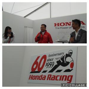 HONDA世界選手権参戦60周年