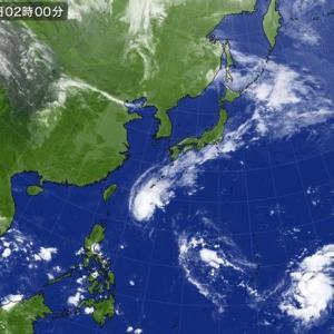 台風が二連発