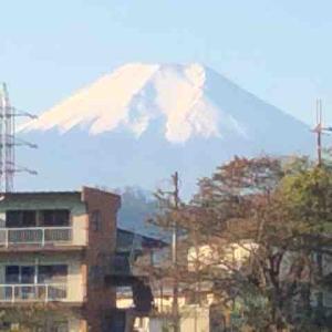 絶賛大好評連載中•今日も富士山