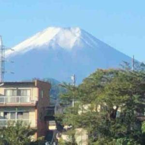 絶賛大好評連載中・今日も富士山