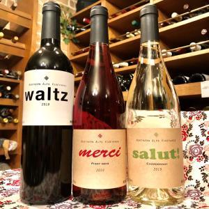赤白ワイン3種類入荷中★ノーザンアルプスヴィンヤード(長野県)