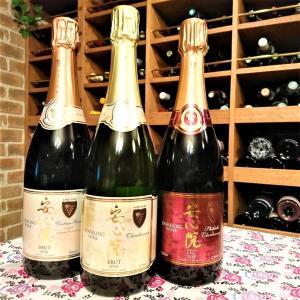 スパークリングワインが好評販売中です☆大分県・安心院葡萄酒工房